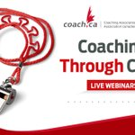 Image for the Tweet beginning: The next edition of Coaching