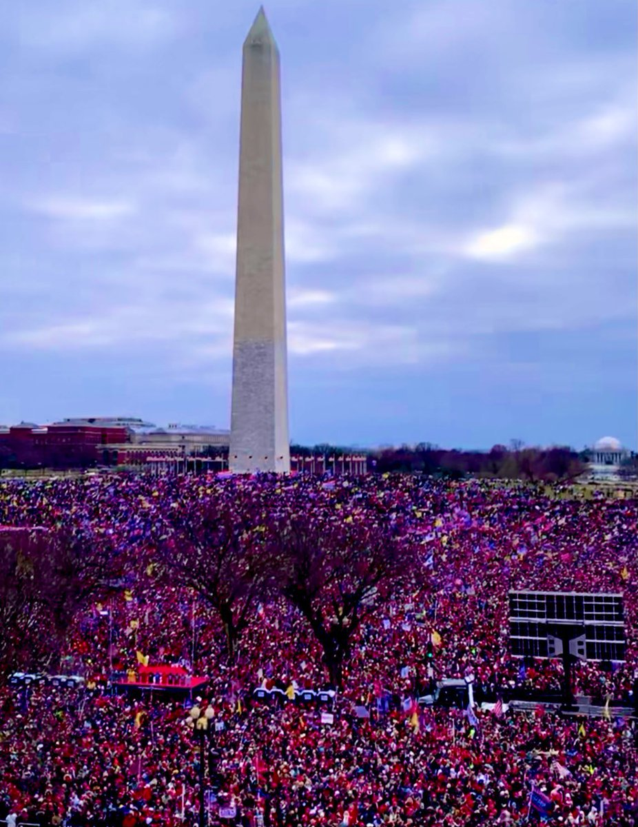 AMAZING! AERIAL SHOT OF TRUMP RALLY IN DC 1/6/21 - YouTube