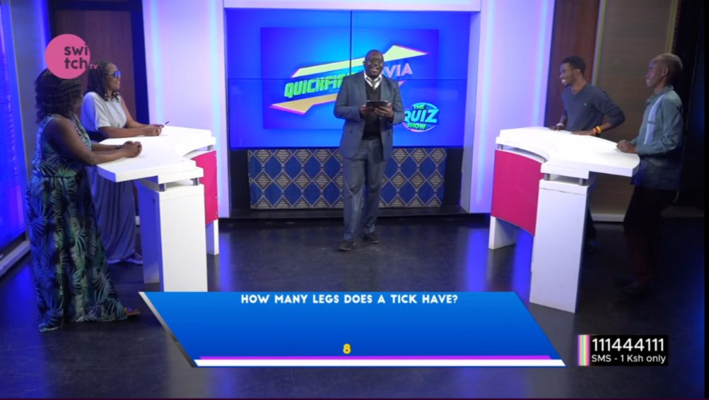 It's a ladies vs gents affair as @freddiebudaboss is here with tonight's #TheQuizShow now on @switchtvkenya #wednesdaythought