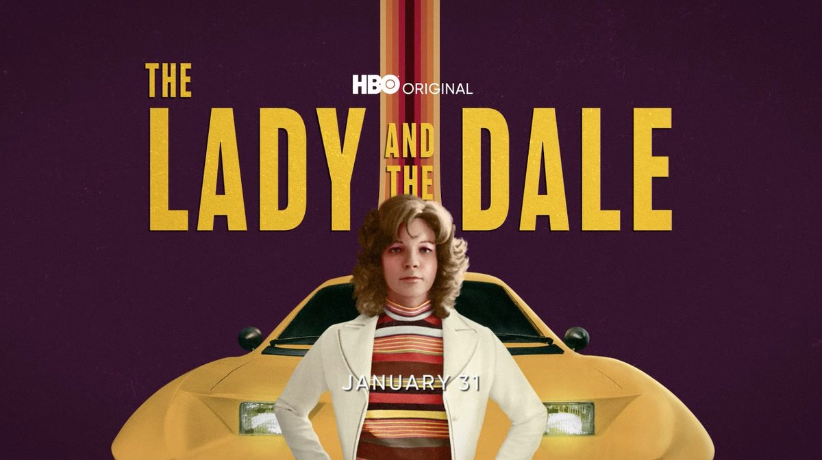 From zero to unbelievable. #TheLadyAndTheDale unravels the extraordinary story of automotive entrepreneur Elizabeth Carmichael. The four-part @HBO docuseries premieres January 31 on @HBOMax.