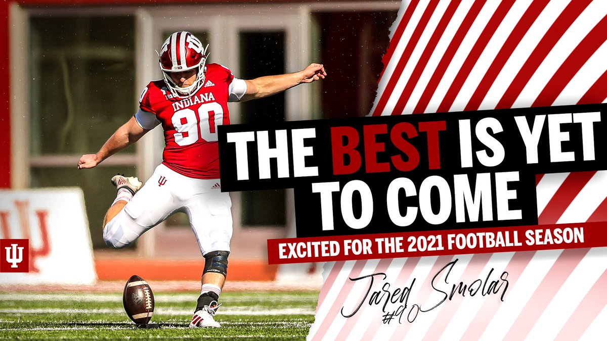 Replying to @j_smolar9: A lot of unfinished business, we're not done yet. The best is yet to come! #IUFB