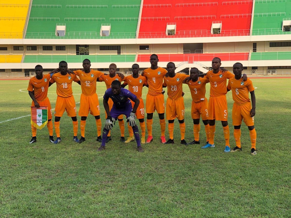 #Elim #Can U17 - tournoi ufoa b Togo 2021  #Nigeria 0-1 #Civ score final  But de Konaté Abdramane