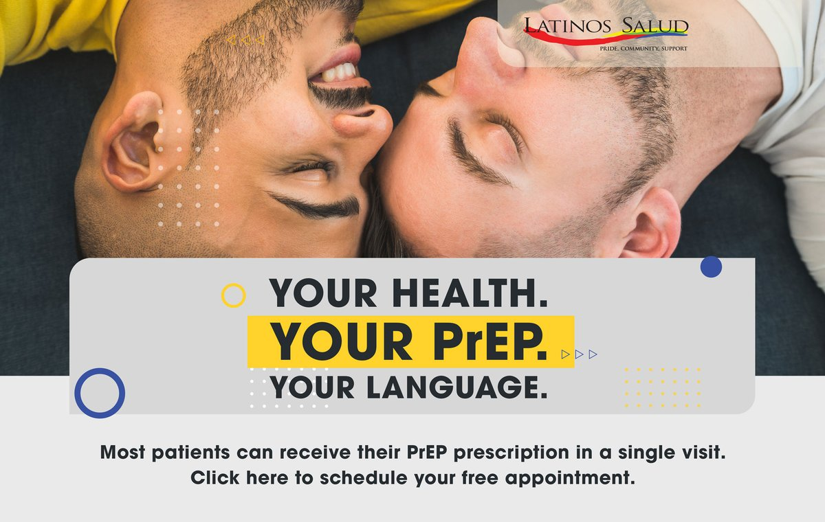 Schedule your free appointment with our bilingual staff through the appointment tab at  for PrEP or other screening and support services.  #WorldAIDSDay #WiltonManors #MiamiBeach #MiamiSouthwest #GetTested #DiversiSAFE #HIVprevention #UequalsU #HIVAwareness