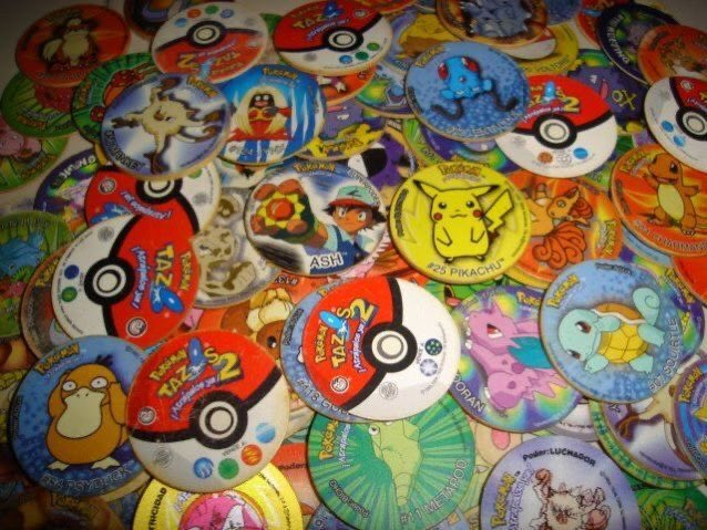 مين كان يجمع منهم   Pokémon Tazos 😍✨ #90s #90sKid #nostalgic90 #90sLove #WeAre90sKids #التسعينات  #Pokemon #بوكيمون