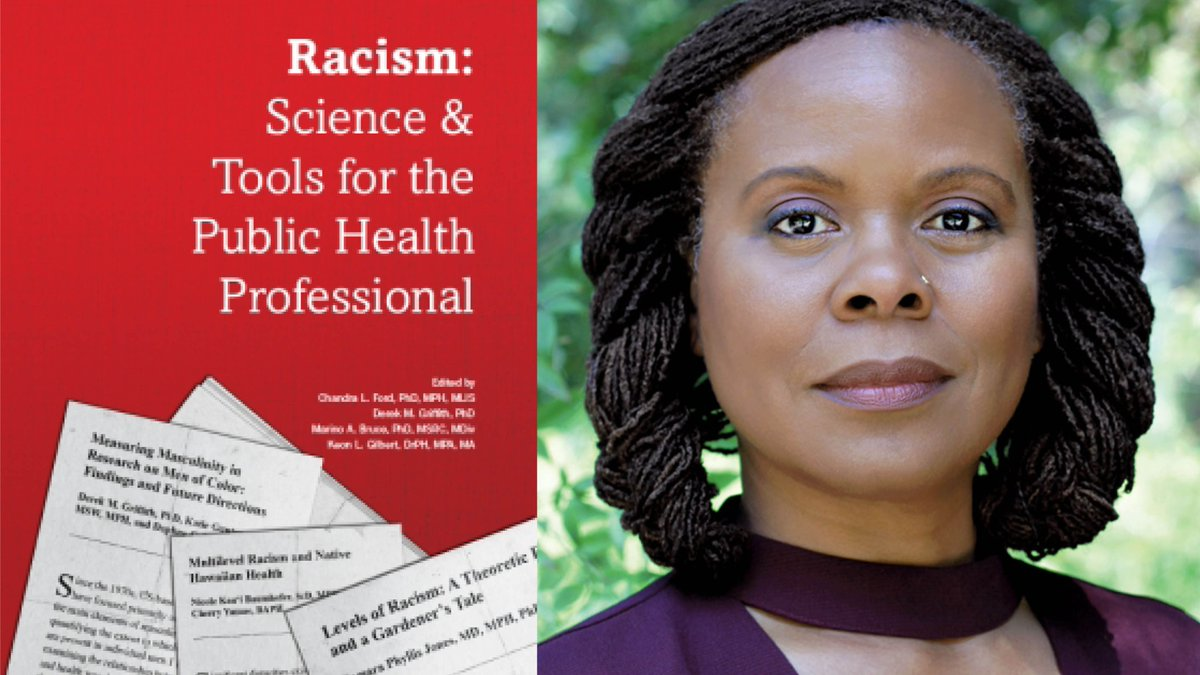 A groundbreaking book co-edited by #UCLAFSPH Prof. @DrChandraFord, founding director of @RacialHealthEq, was selected as an Outstanding Academic Title for 2020 by @Choice_Reviews.     #healthequity #racism #socialjustice