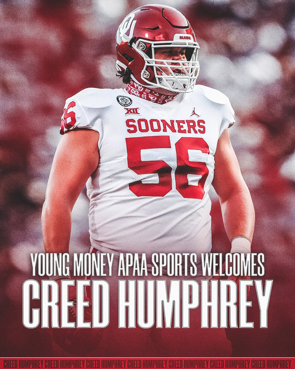 Welcome to the FAMILY! @creed_humphrey   Our OU ties are strong!   #YMAPAA #OUDNA