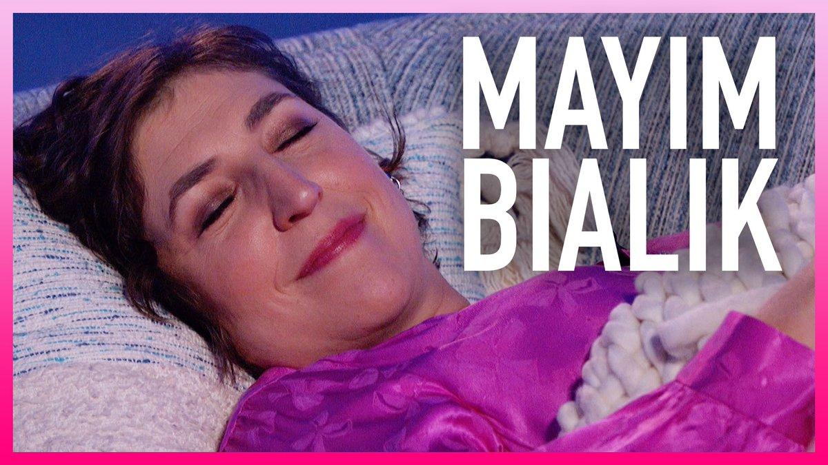 Mayim Bialik Takes A Nap Mid-Interview 😴  WATCH:   #KellyClarksonShow @missmayim