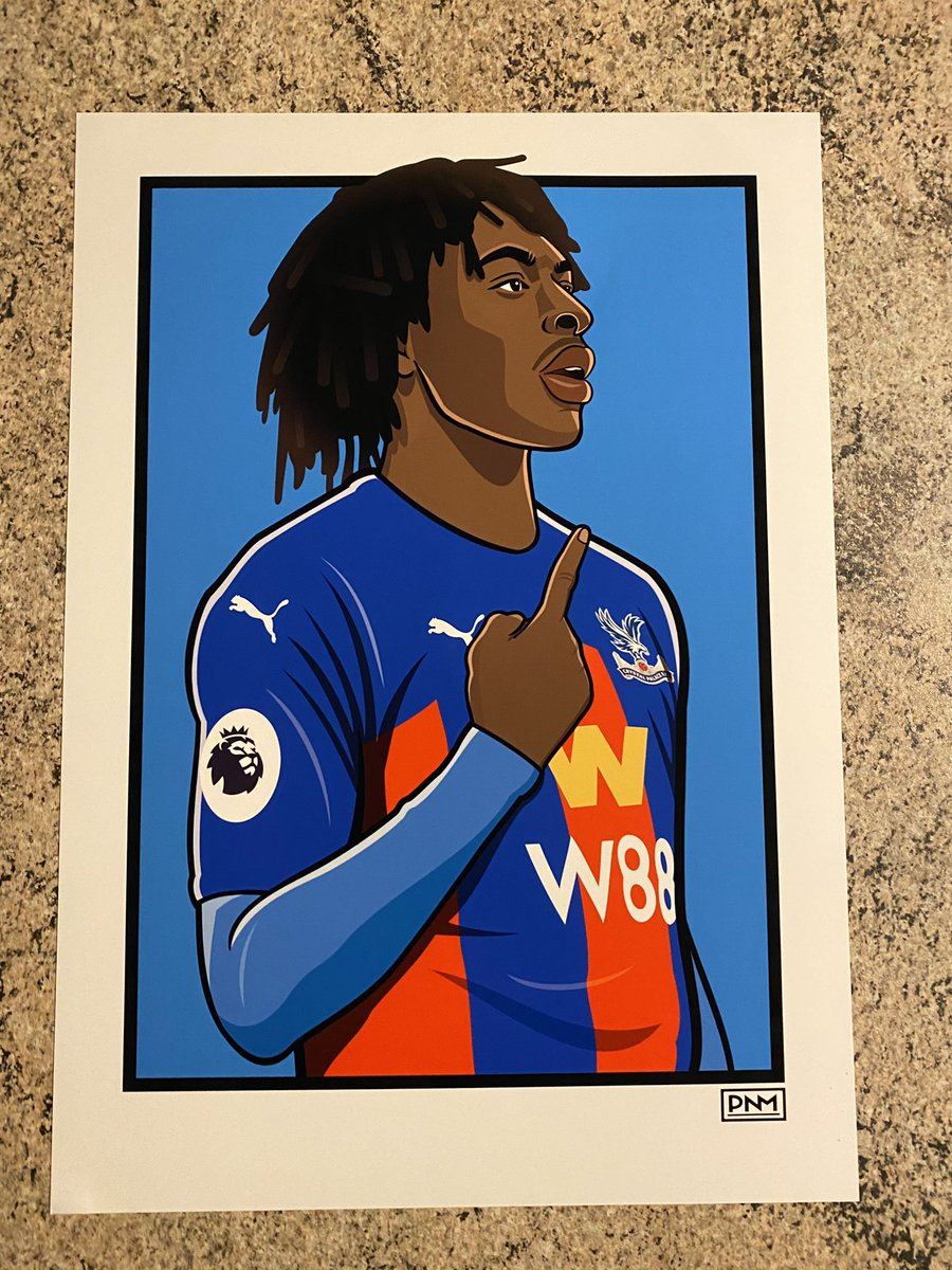 Replying to @pnm1979: To win this Eze A3 print RT this tweet and I'll choose someone at random tomorrow.