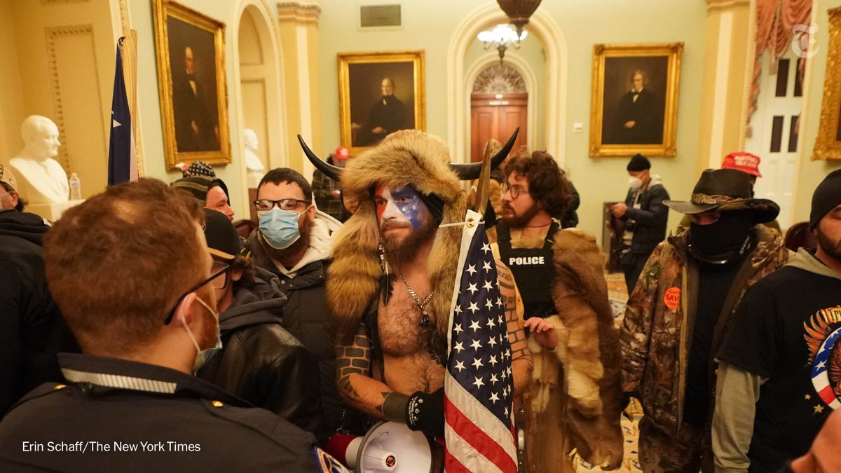 Scores of Trump supporters breached the Capitol building and neared the Senate floor on Wednesday afternoon as thousands cheered and clashed with police in front of the building.