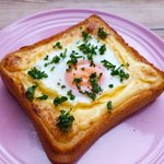 甘くてしょっぱい!卵がとろっ、何度も食べたくなるトーストの作り方!