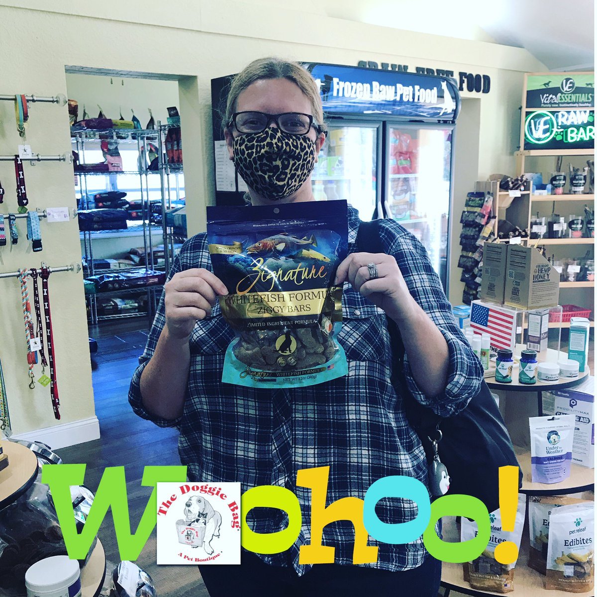 Winner! Winner!🥳 Congratulations Suzy, you're a #Winner just for being You on 'What's Your Name Wednesday' at The Doggie Bag!🎉 #whatsyourname #celebrate #dogtreats #dogs #cats #suzy #thedoggiebag #petboutique #happyplace #lakelandflorida #lakelandfl #dogmomsoflkld