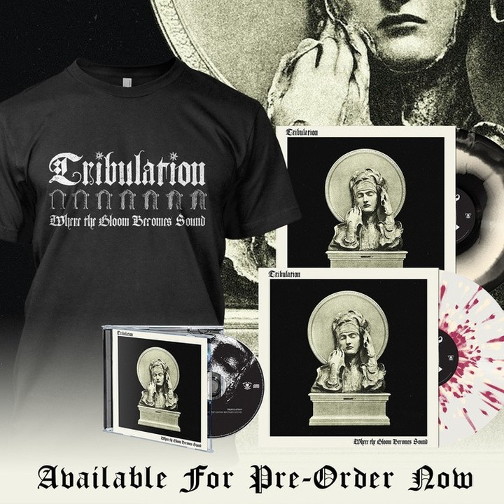 #Tribulation's new record, #WhereTheGloomBecomesSound drops later this month! Grab those pre-orders down below!  🎵:
