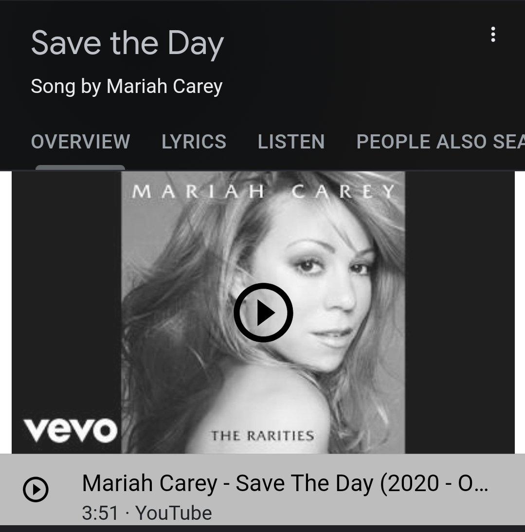 #mariahcarey #savetheday
