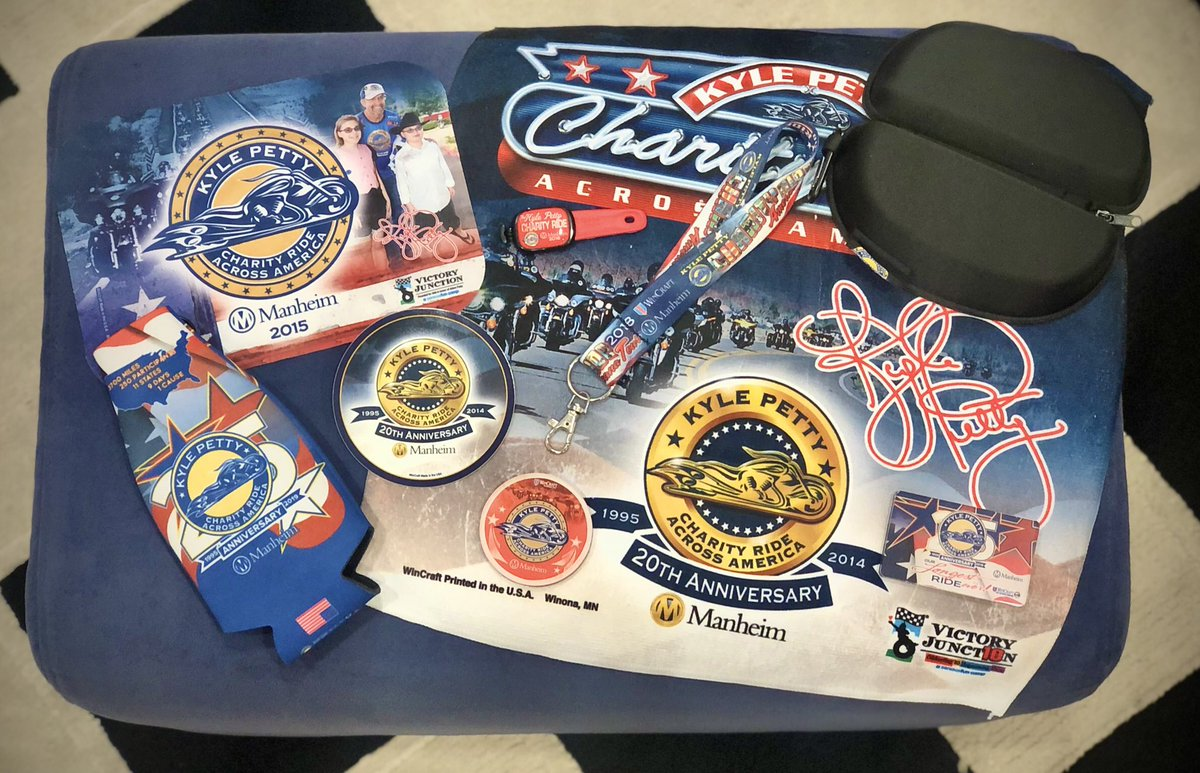 #GIVEAWAY ✨ New year, new giveaway! One lucky winner will win this #KPCharityRide prize pack featuring specialty swag from some of our past Rides! Here's how to enter to win... 👇  1. FOLLOW @kpcharityride 2. RT this post  Winner will be randomly selected tmrw, Jan. 7 at 6pm ET.