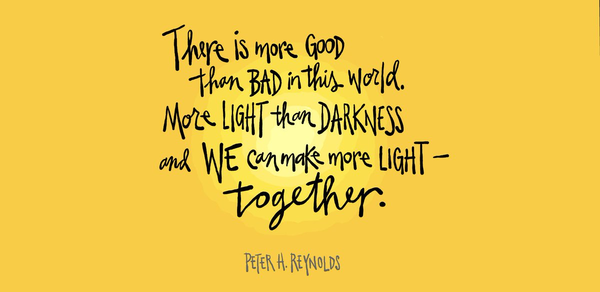 Together, we can make more light.