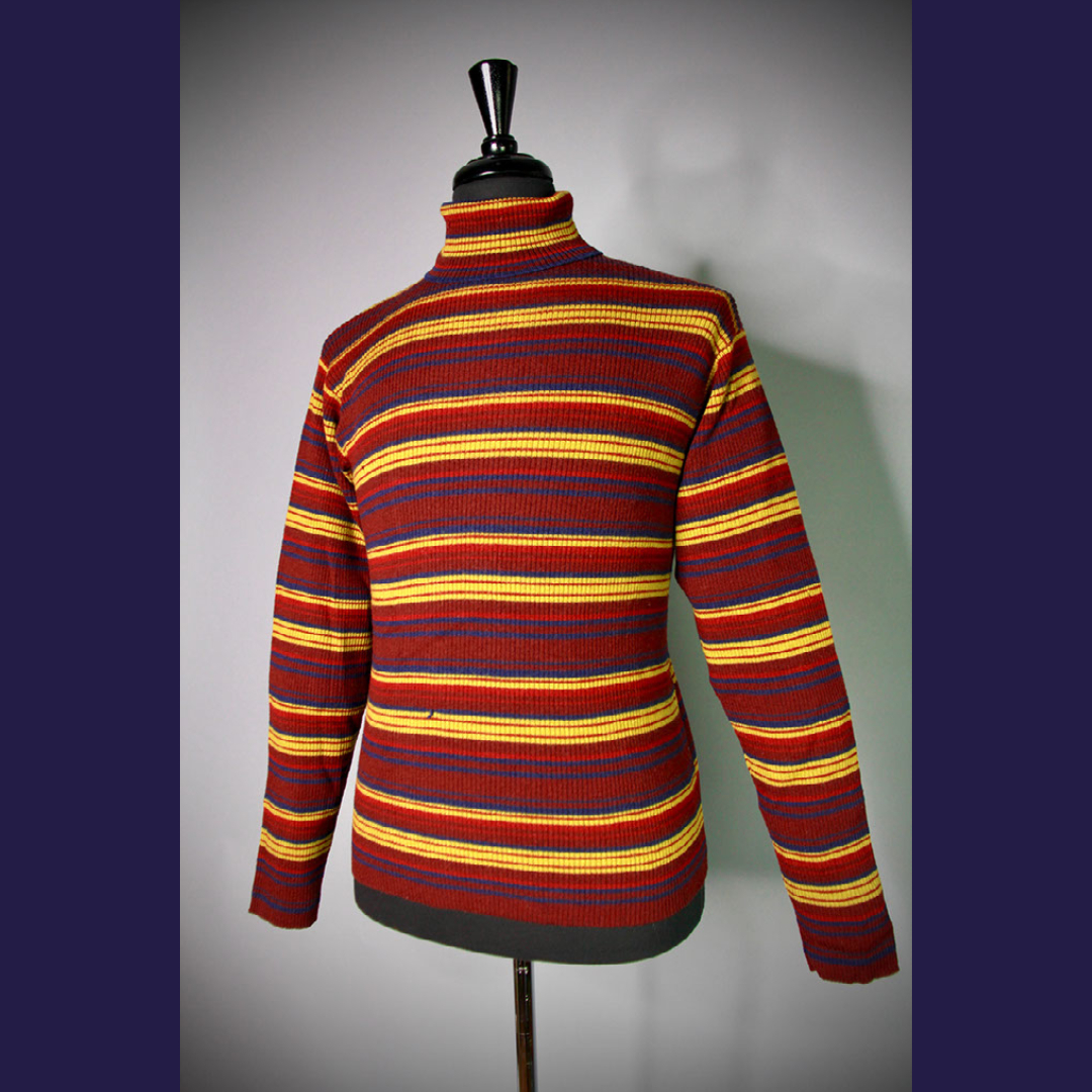 From the archives - a striped sweater owned by @Billy  Worn through 1996/1997. More of the SP/WPC archives at .