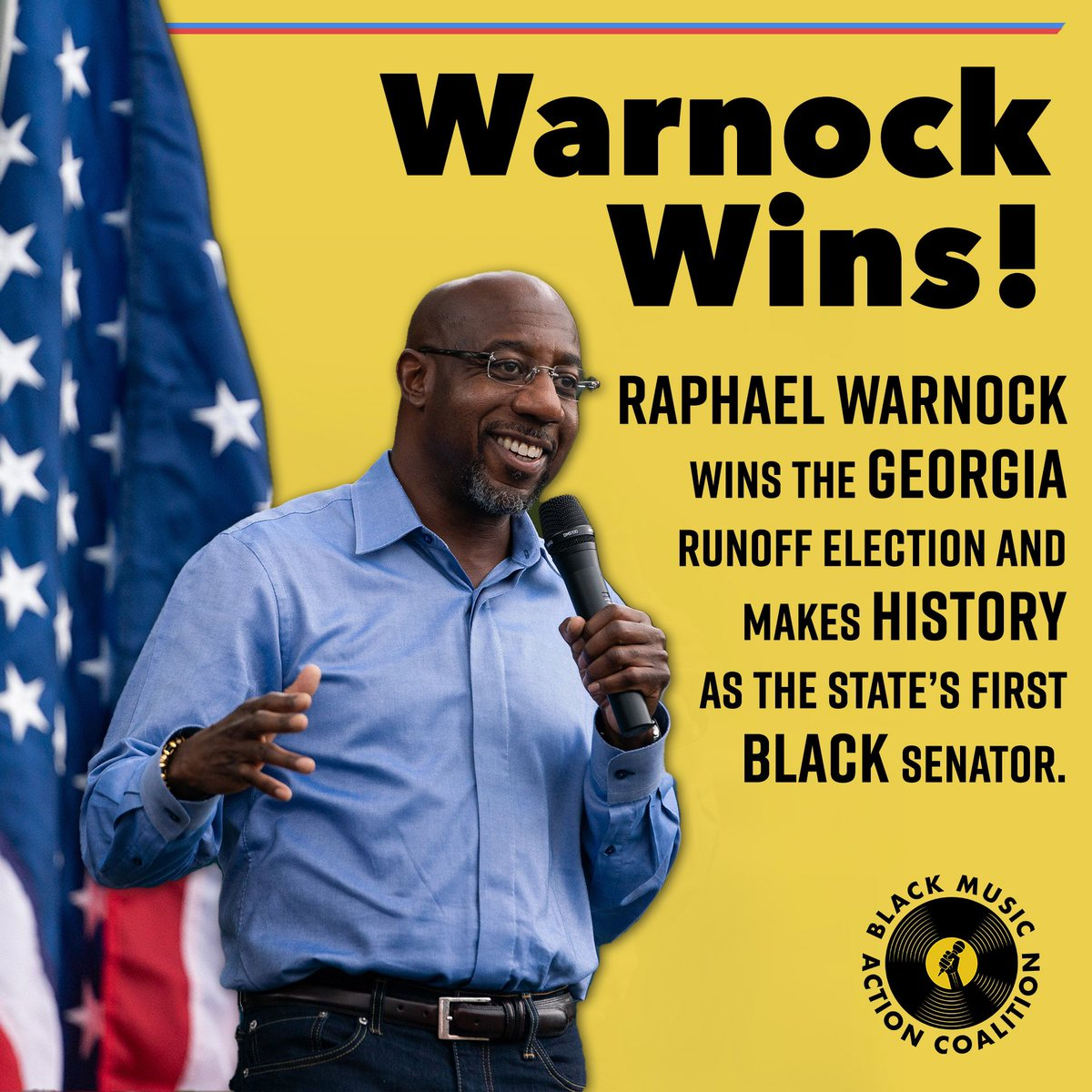GEORGIA DID IT AGAIN! #BlackVotesMatter #BlackLivesMatter #Warnock #Ossoff #BMAC #FairFightAction
