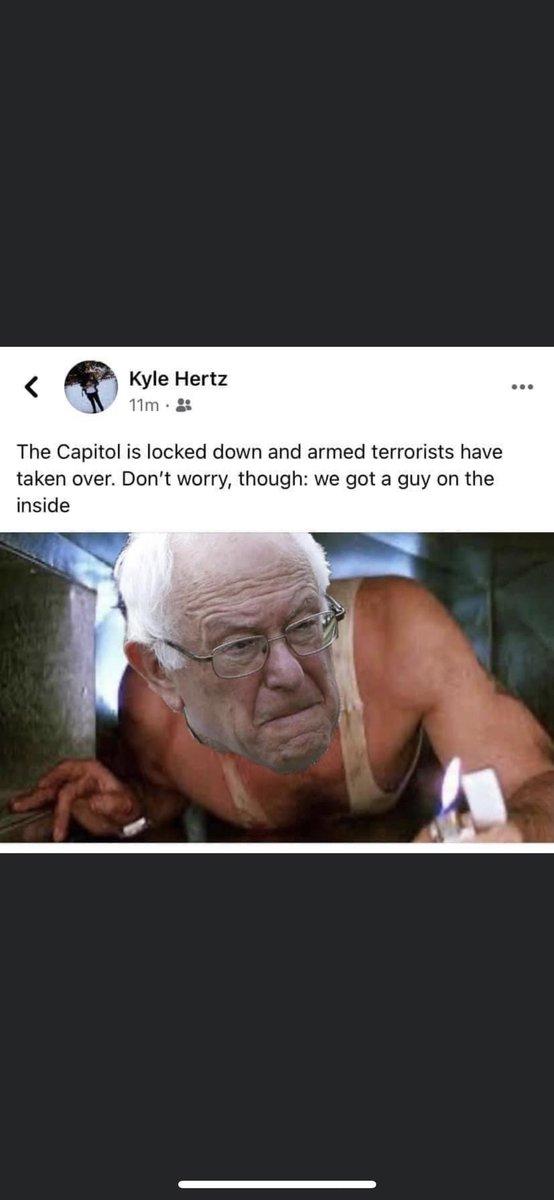 Lol nice! #Capitol #CapitolBuilding #BernieSanders