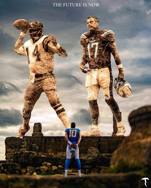 Love this photo.   Fouts -> Rivers -> Herbert  Image credit goes to:  @tankeditz   #BoltUp   #WPMOYChallenge  + Rochell