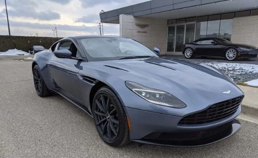 Aston Martin Troy On Twitter Limited Availability This 2020 Astonmartin Db11 Amr V12 Coupe Is Offered In The Sleek Concours Blue Exterior With Lush All Obsidian Black Leather Interior