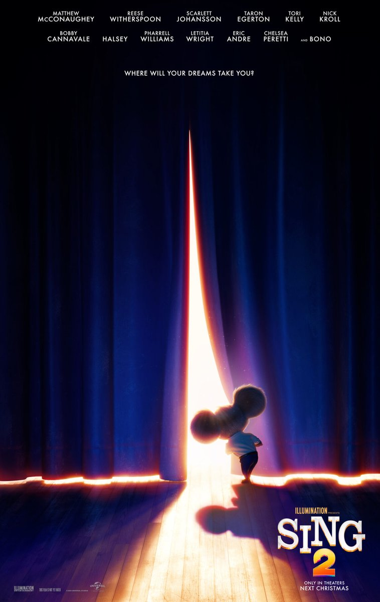 Get Excited for SING 2- New Poster and Cast Announcements #Sing2 #MomDoesReviews #movie @singmovie #movieposter
