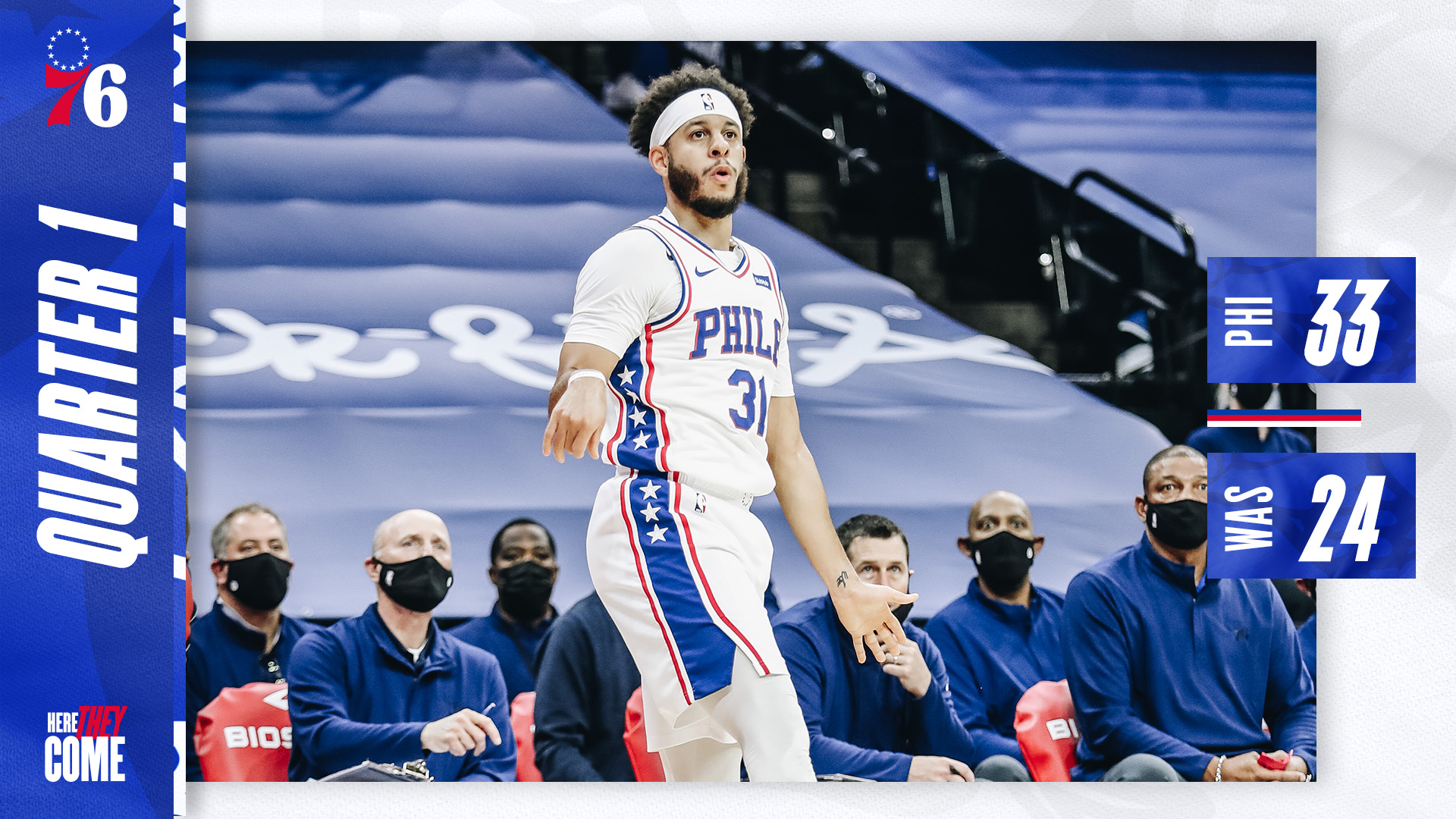 Philadelphia 76ers On Twitter Up After 1 Heretheycome