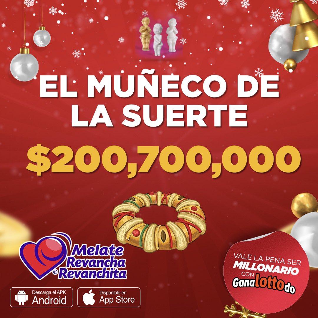 Feliz día de Reyes 🤴🤴🤴 Si les sale el muñequito, que sea de la suerte 🍀 Jueguen Melate para ganarse los millones ❤️❤️ https://t.co/ji5ZfNwmQn https://t.co/GHGJNdJLxk
