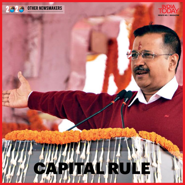 He trounced two national parties to create a bastion in Delhi. Click  to read why @ArvindKejriwal is in our list of the Newsmakers of 2020. #MagazinePromo