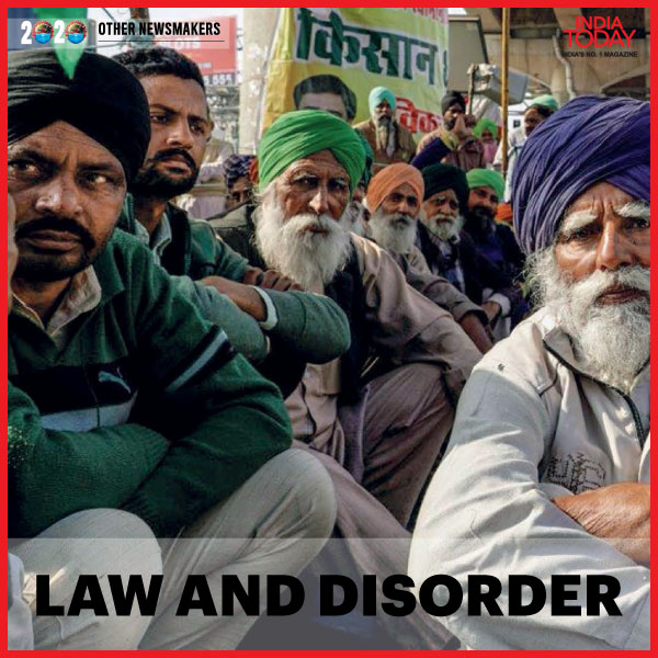 The 'Angry Farmer', up in arms against the contentious central farm laws features in our list of the Newsmakers of 2020. Click  to read more. #MagazinePromo