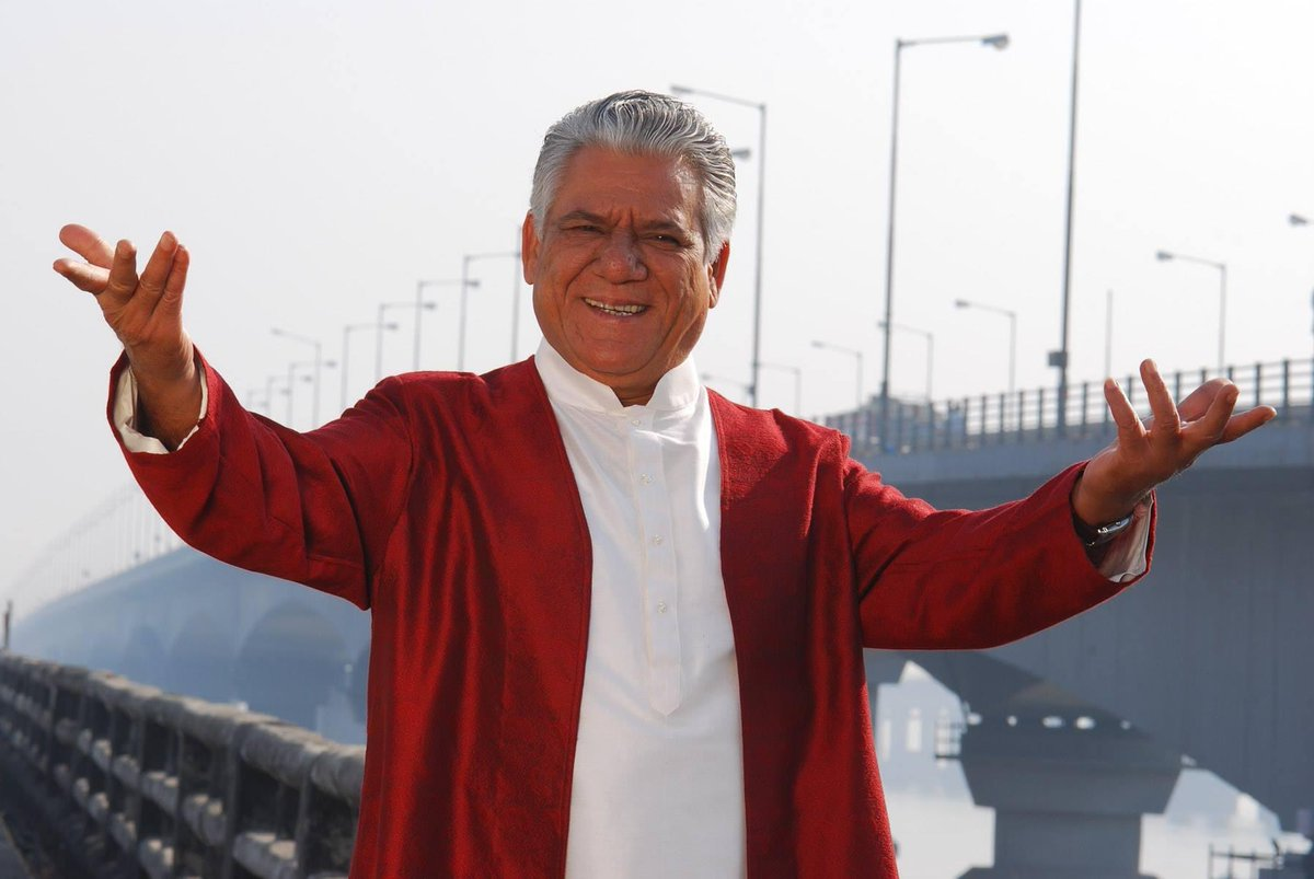 Let's pay our respect to the man who's talent and versatility will always be immortal in our hearts. Rest in peace #OmPuri ji.