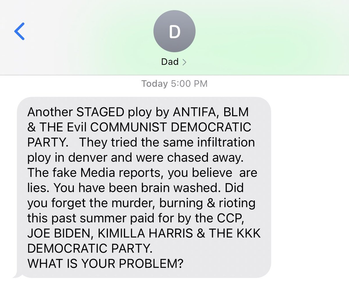 Unhinged parents hive, where are sitting tonight?