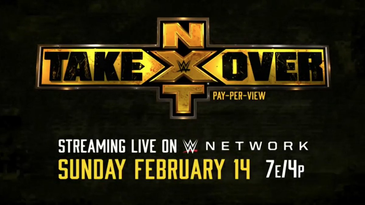 WWE NXT Takeover Special Announced For Valentine's Day