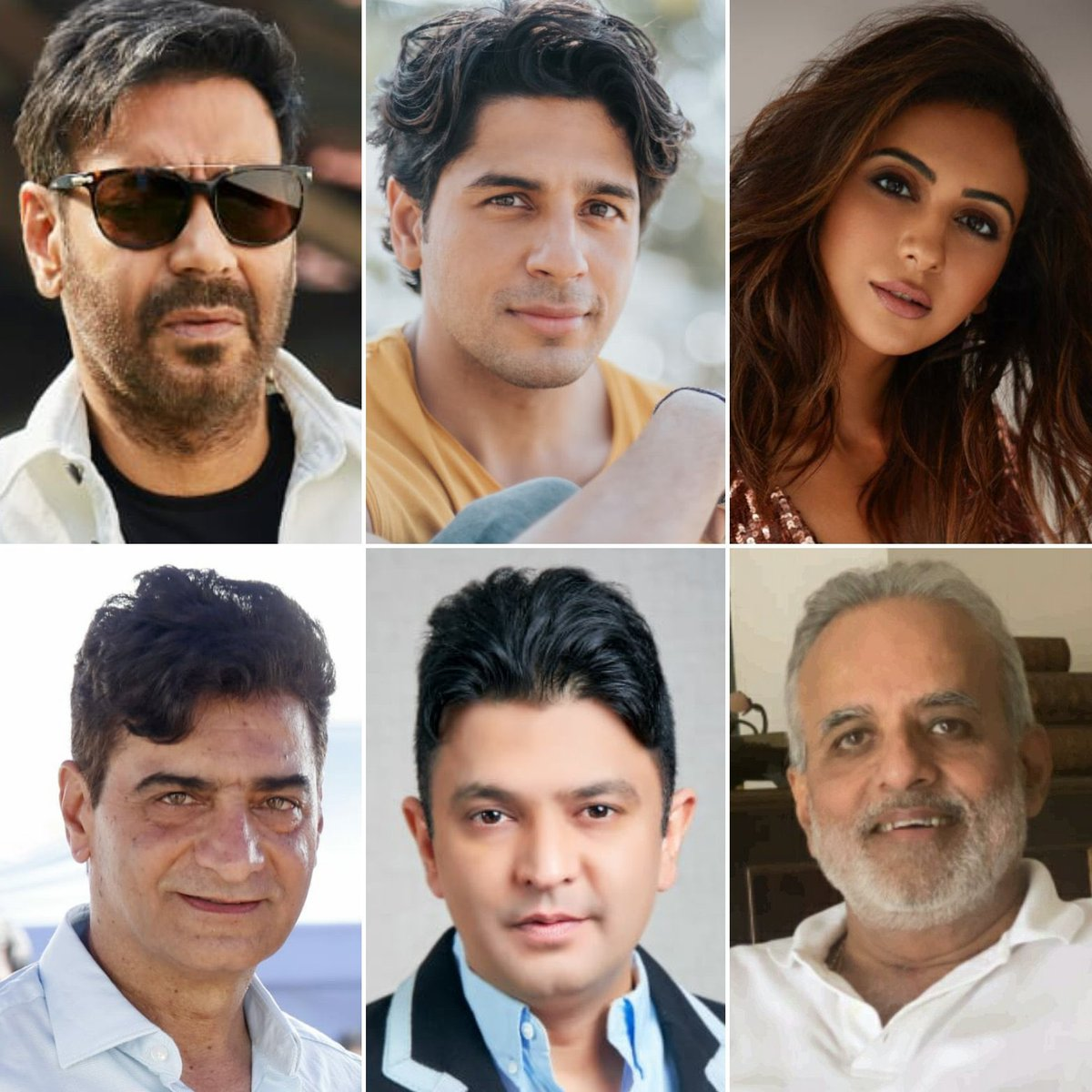 #Announcement: #AjayDevgn, #SidharthMalhotra and @Rakulpreet to star in #ThankGod - a slice of life comedy with a message.  Director: #IndraKumar  Shoot starts 21 Jan 2021.  Producers: @TSeries, #AshokThakeria's #MarutiInternational, @SunirKheterpal, @DeepakMukut & @anandpandit63