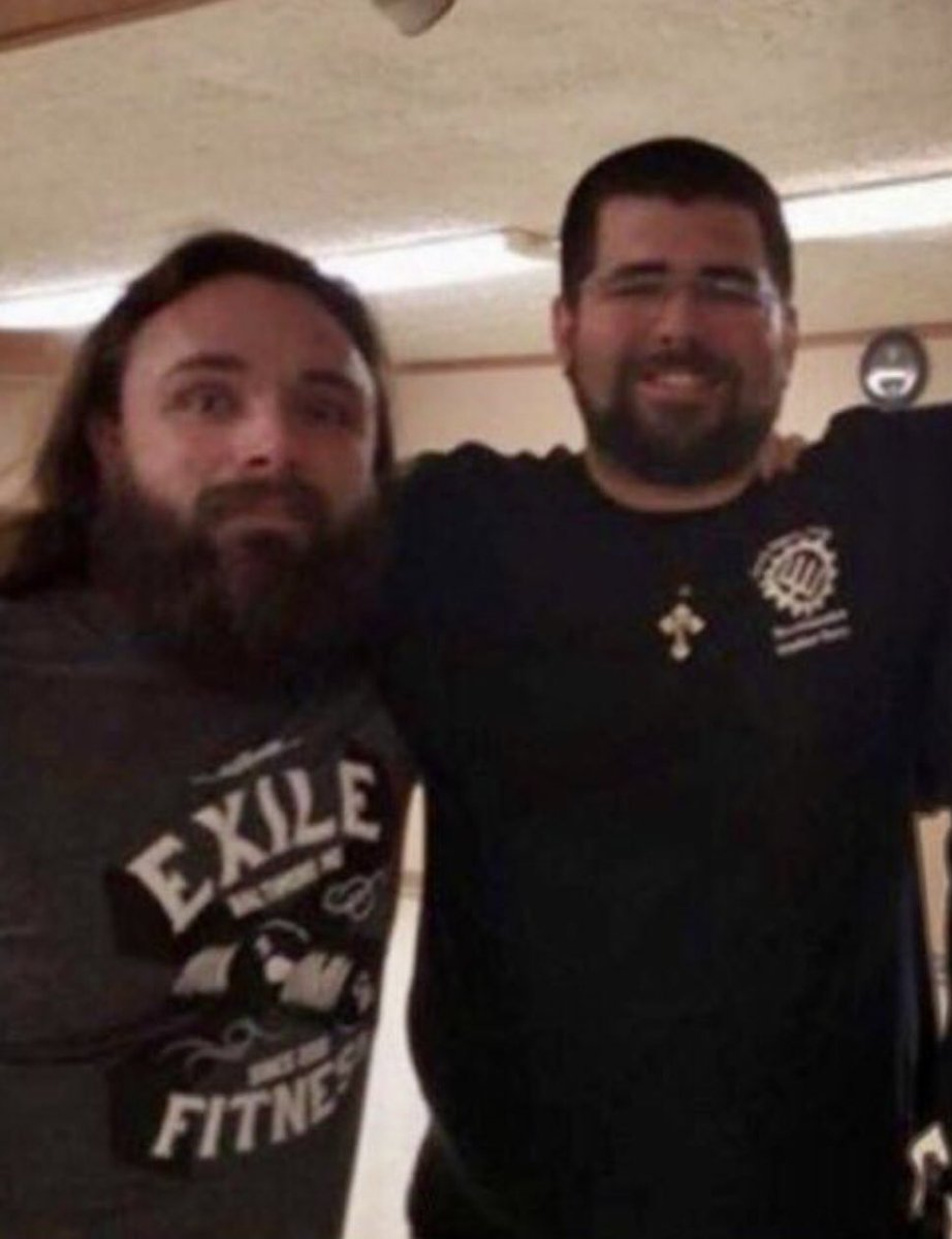 #prisontime Jason Tankersky and Matthew Heinbach. #Shoutoutthugs