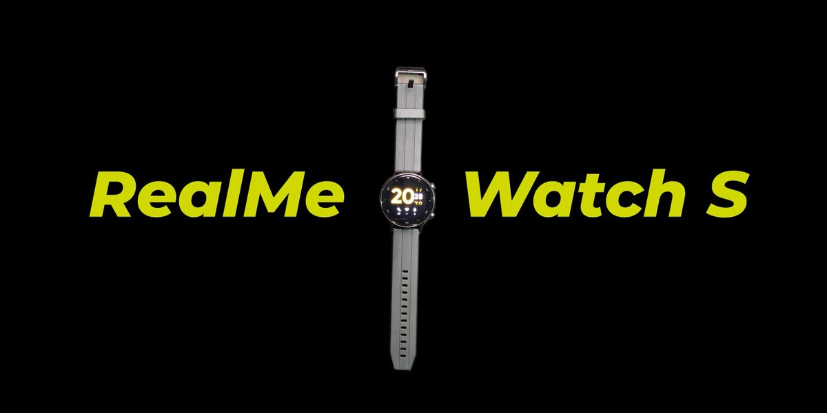 RealMe Watch S Mini Review. Only one thing Missing🧐 Link:   @realmecareIN @MadhavSheth1  Can you please send me a review unit of the Realme buds air pro(master edition)?   #realmeWatchS #realmewatchsseries #realme @MadhavSheth1 @realmecareIN