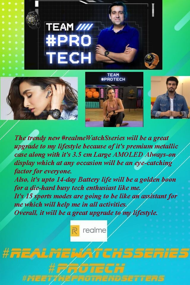 @realmeLink @Flipkart A complete masterclass product with aggressive pricing 😍😍😍😍 Hope to be one of the lucky winners 😍😍😍 @MadhavSheth1  @realmemobiles  @realmeLink  #Contest #MeetTheProTrendsetters #realmeBudsAirPro  #realmeWatchSseries #ProTech #realme