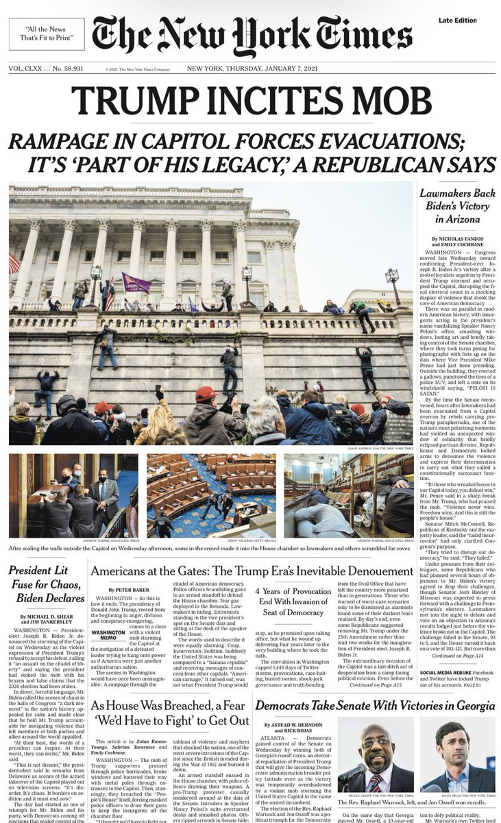 NYT front page https://t.co/ZBJhcY0EC7