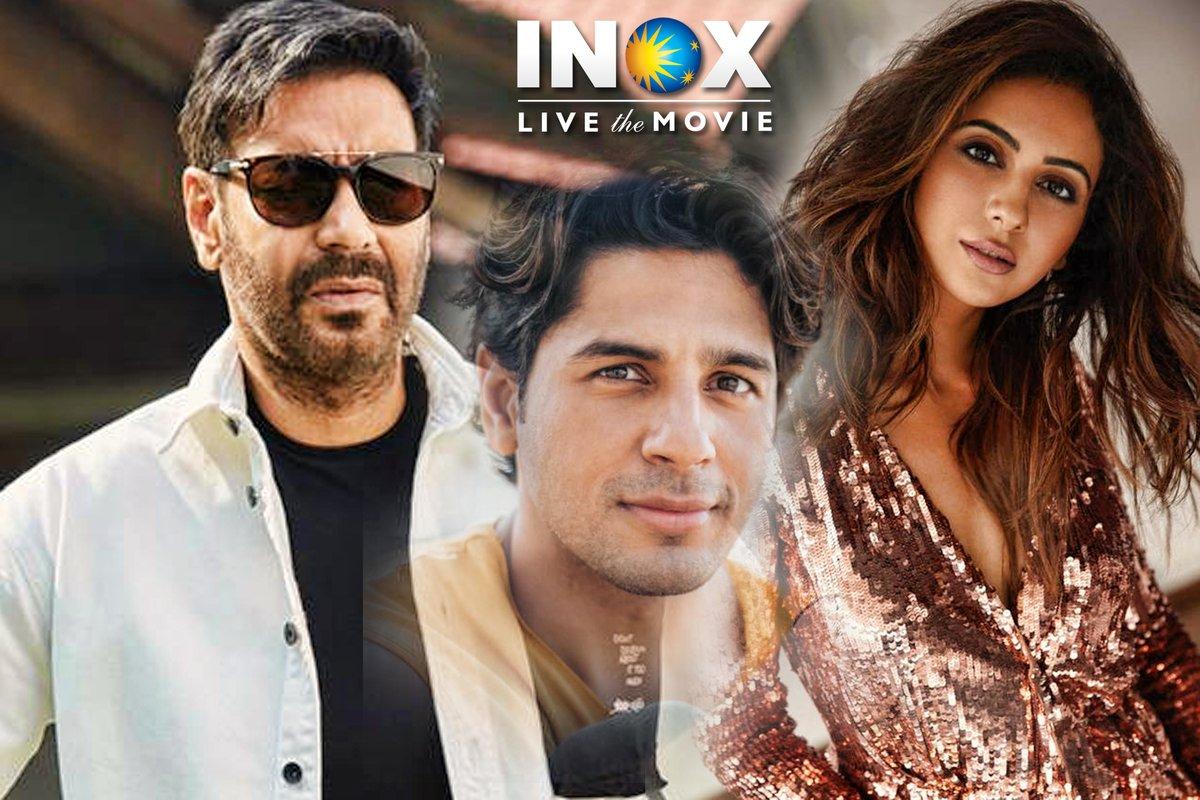 #AjayDevgn, #SiddharthMalhotra & #RakulPreet star in the upcoming slice of life comedy by #IndraKumar titled #ThankGod!  #INOX @ajaydevgn @SidMalhotra @Rakulpreet @Indra_kumar_9 @SunirKheterpal @DeepakMukut @anandpandit63 @TSeries