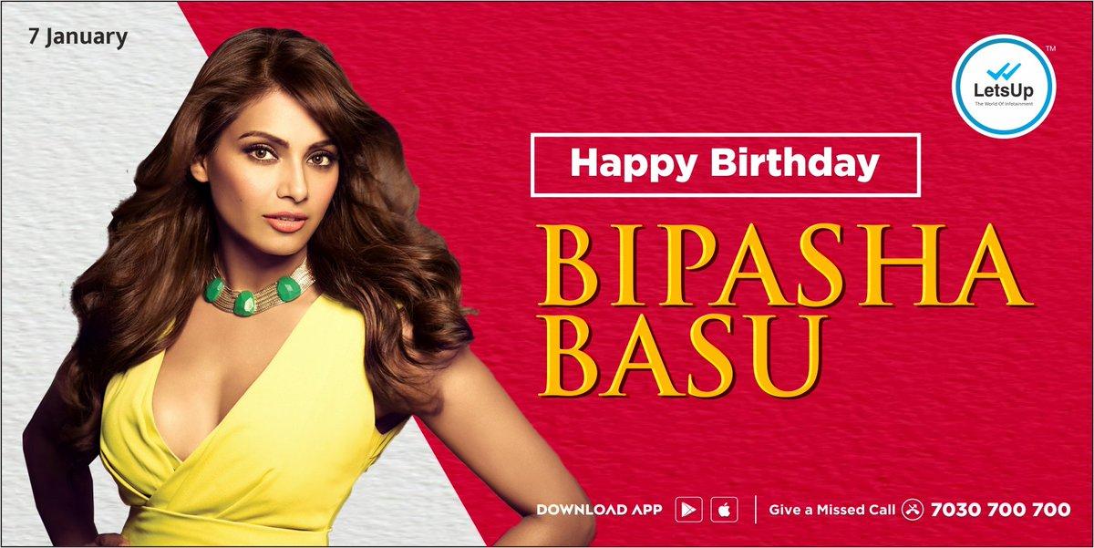 वाढदिवसाच्या हार्दिक शुभेच्छा @bipsluvurself 🎂🎉  #BipashaBasu #HappyBirthday #Bollywood #LetsUpApp #LetsUpMarathi @MarathiRT