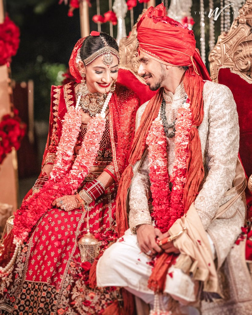 Congratulations💐💐💐 Both💑❤ Of You @yuzi_chahal Sir and Dhanashree Maam For Your Wedding🤵🏻👰🏻💒💍 and May Mahadev Bless You🙏🏻 Always With Lots Of Love❤ and Happiness😀 In Your Lifetime👍👍👍 #DhanaSaidYuz