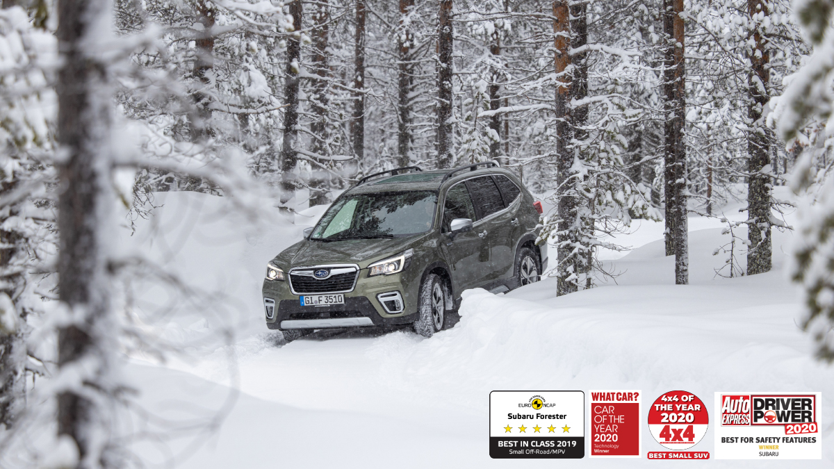 Capability at its best.  Symmetrical All-Wheel Drive on Forester e-BOXER establishes which wheel has the most traction and varies torque to get you out of tricky conditions - ensuring you won't be hindered by any weather.  Discover more - https://t.co/8D9Buiw40G https://t.co/HOTHgaW8oq