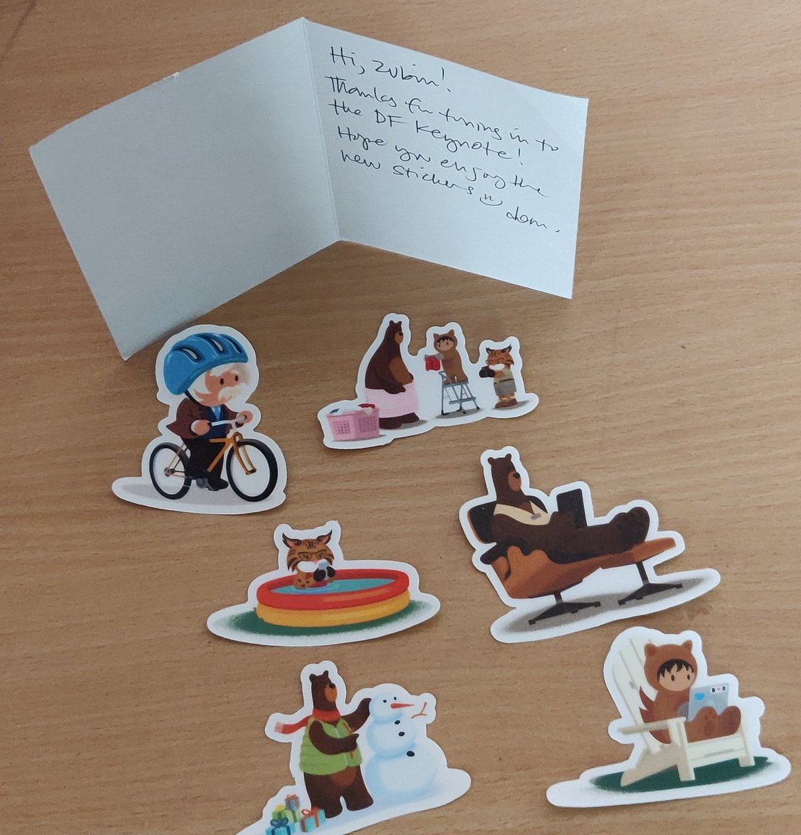 Finally it reached the destination!  Thank you @littleiglooo Mam for this letter and sticker swag. You made #dreamtx a memorable one!