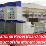 Image for the Tweet beginning: The ServoPro Rotary Die Cutter