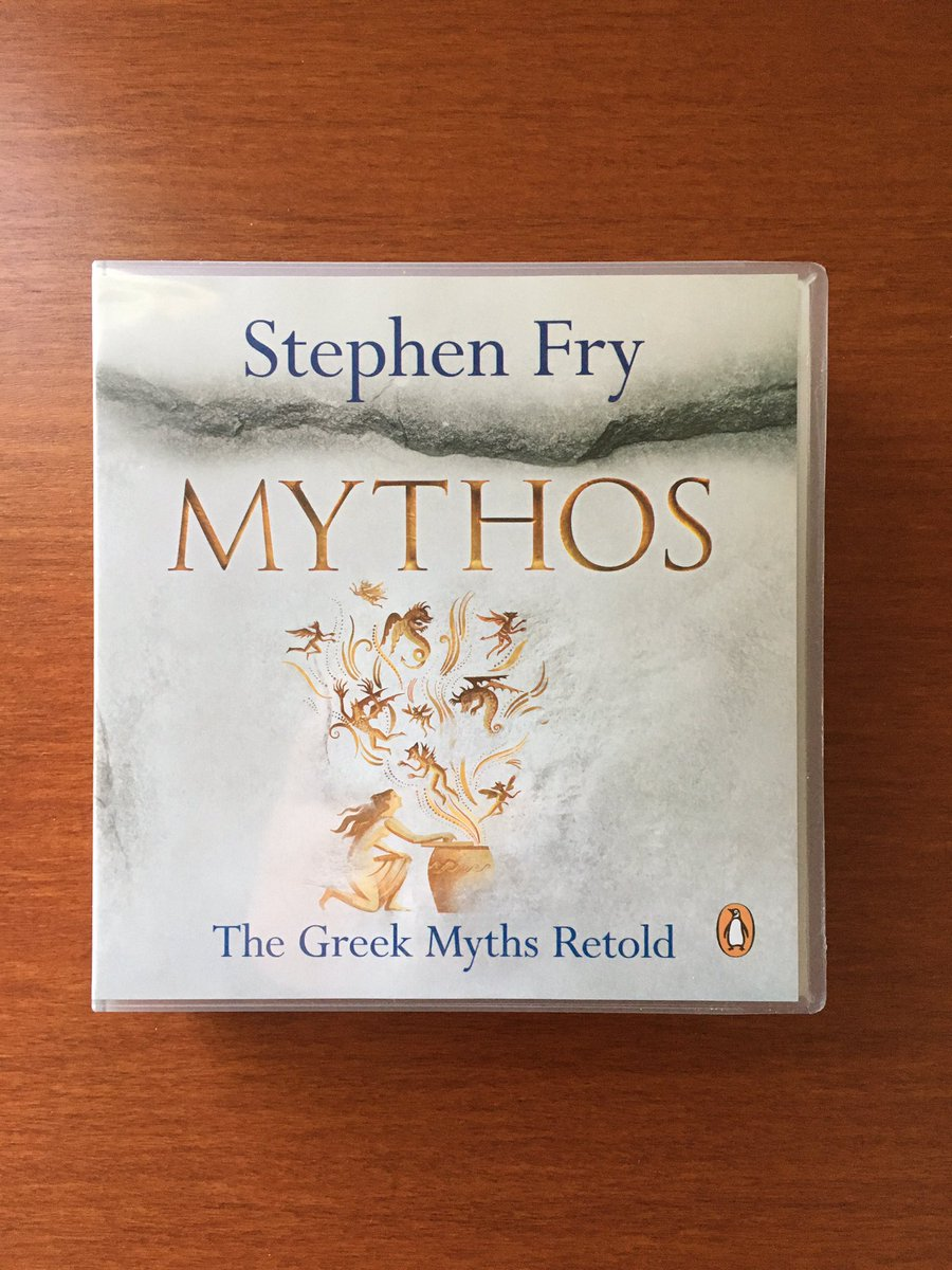 @holland_tom @stephenfry @TheRestHistory @stephenfry is always a delight 🤩#greekmythology