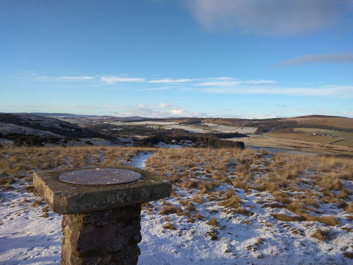 Having been ill since Boxing Day, it was good to get out on the hill again today.