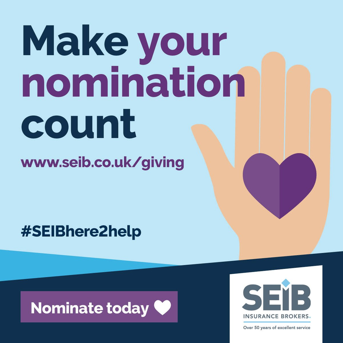 In these difficult times, @SEIB_Insurance are donating a share of £43,000 to 10 lucky charities. To put us in the running, we need your nominations!  To help us save more animals, make your vote count.  Please visit:  Charity number. 1138944 #seibhere2help