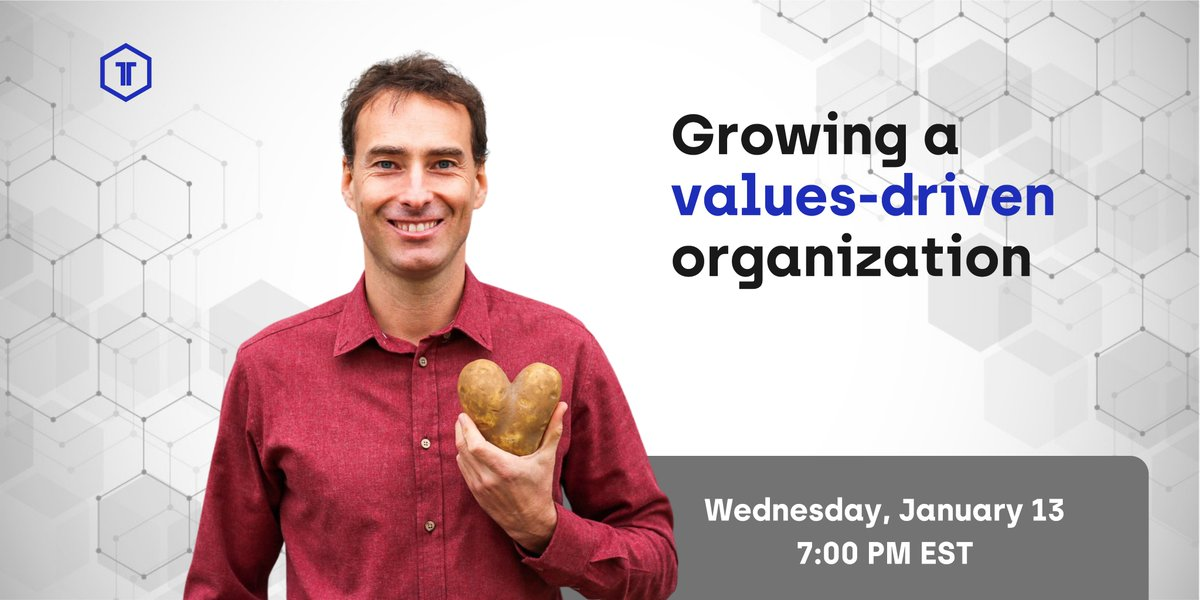 Kickstart your 2021 — join the community for a vibrant conversation about balancing profits and values.  You can look forward to great stories and sharp insights from Philip Behn, the CEO of @imperfect_foods.  Wednesday, Jan 13 at 7:00 PM EST  Register: https://t.co/oU3RF314UU https://t.co/pTtulSef7R