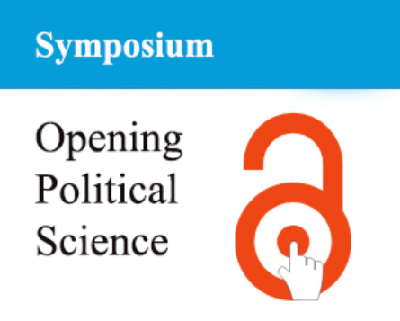 "Logo of new Symposium on ""Opening Political Science"", published in PS: Political Science & Politics"