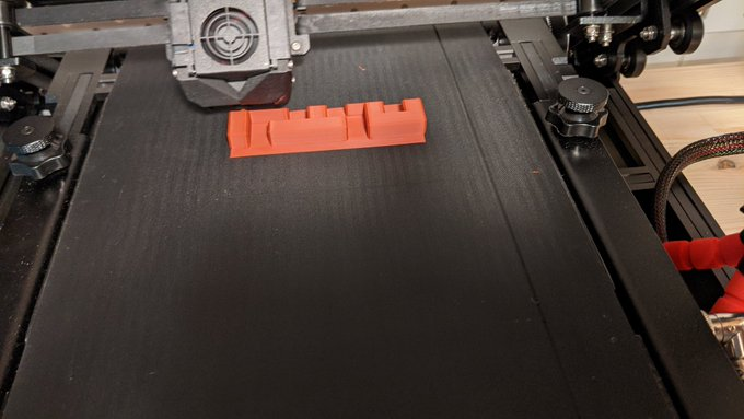I've found adding a brim (manually) to the foredge of prints really helps them adhere on the #3DPrintMill