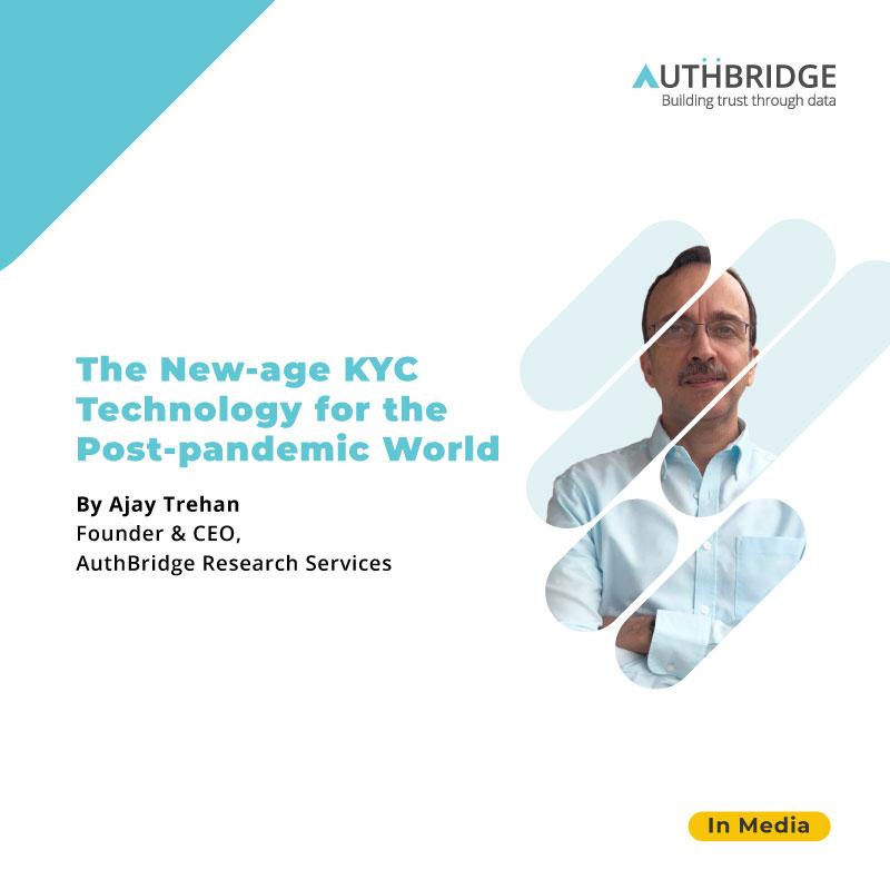 Our CEO, @iamajaytrehan, talks about virtual communication, #AI-powered #liveness checks #identityverification for #VideoKYC  #artificialintelligence #machinelearning #identitymanagement #videoKYC #data #KYC  #fraudidentification #HRTech #technologynews